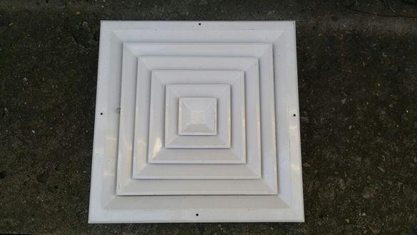 Вентилационни решетки таванни регулируеми