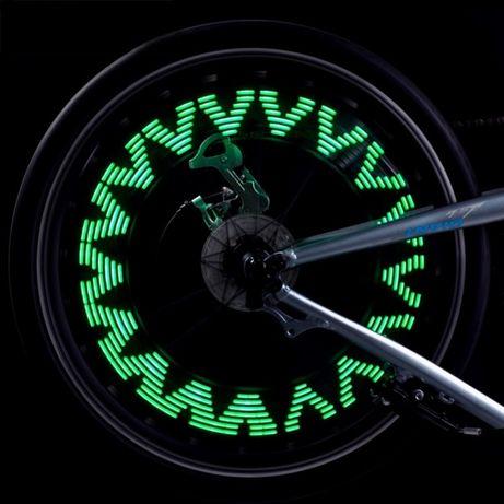Lumini multicolore pentru roată bicicleta