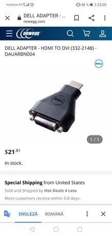 Adaptor DELL HDMI to DVI sigilat