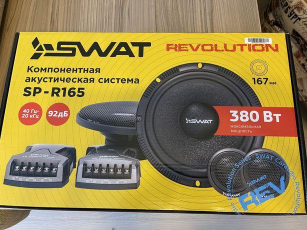 Компонентная акустика swat sp r165