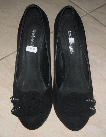 Pantofi ocazie din catifea mărime 41