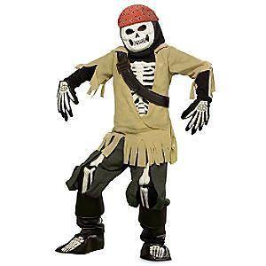 Disney Halloween Glow Pirate Costume карнавален костюм за празници