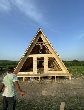 Cabane din lemn și case modulare