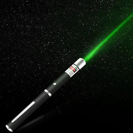 Лазерная указка мощная зелёного цвета