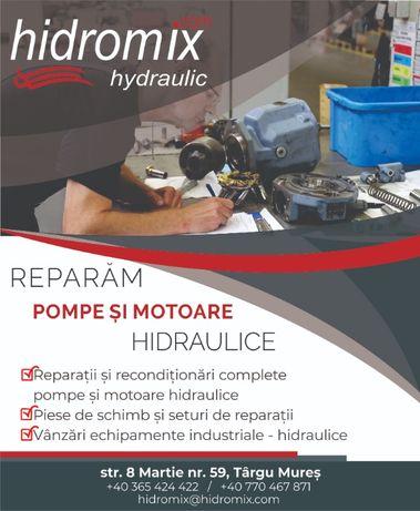 Reparatii motoare si pompe hidraulice