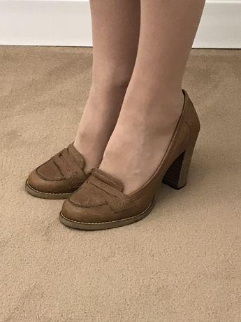 Pantofi dama piele cu toc