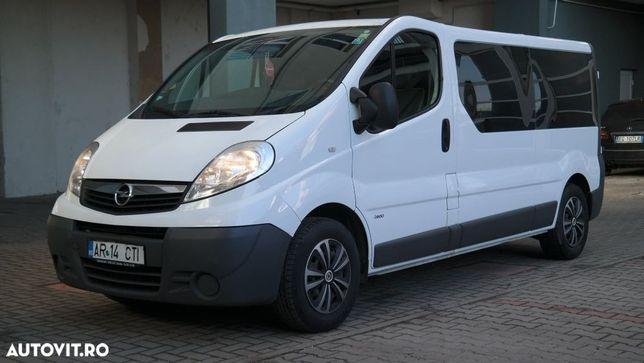 Opel Vivaro 8+1 Locuri cu CLIMA, 2.0 Cdi Diesel, an 2014
