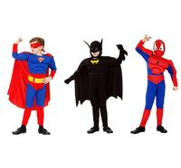 Детски костюм спайдърмен с мускули , spiderman с мускули ,батман