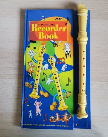 Flaut fluier Blockflote My Fun to Learn Recorder Book