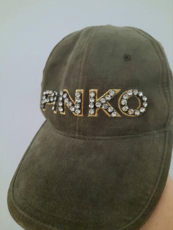 Șapcă PINKO,catifea,culoare kaki!
