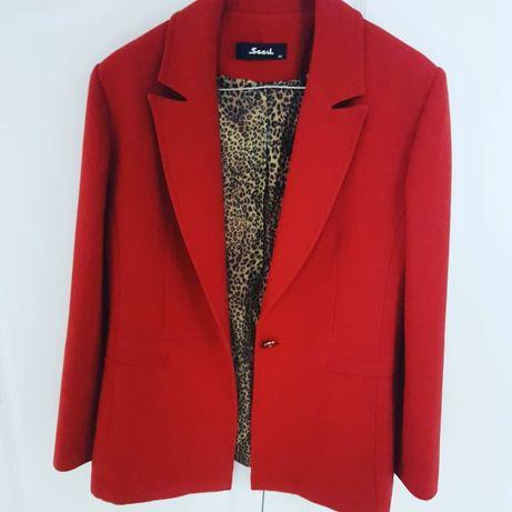 Пиджак турецкой фирмы Seçil, в идеальном состоянии, 15 тыс тенге