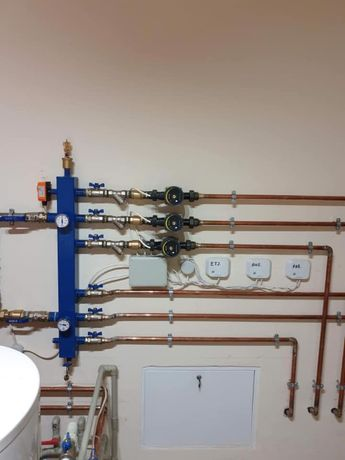 Butelie egalizare EcoSmart 3 circuite / separator hidraulic