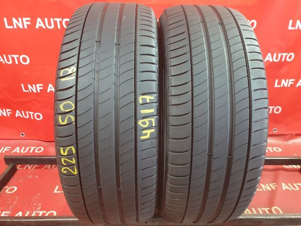 2 Anvelope de VARA - 225/50/18 - Michelin - 5.33 MM - DOT 4917 !