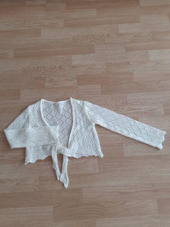 Bolero tricotat.