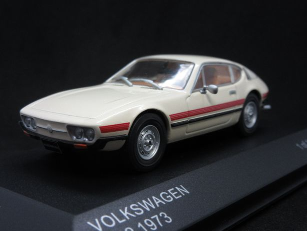 Macheta Volkswagen SP2 1973 Whitebox 1:43