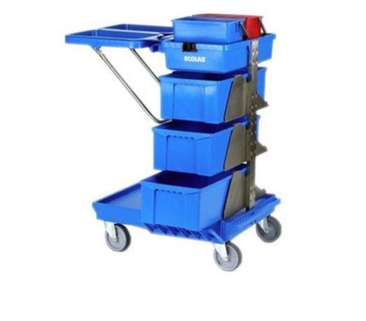 Продается уборочные тележки Ecolab Mobilette. В наличии 15 штук