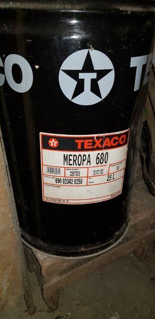 Ulei industrial TEXACO MEROPA 680