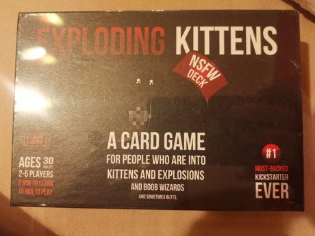 Забавни парти игра с карти Card Exploding Kittens , Impoding kittens
