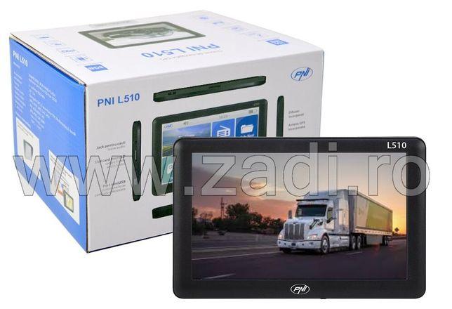 Gps PNI L510-4 programe instalate- model dedicat camion sau autoturism