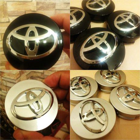 Toyota - set 4 capace pentru jante de aliaj