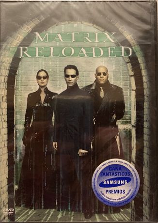 Film CD DVD original Matrix Reloaded, nou în țiplă