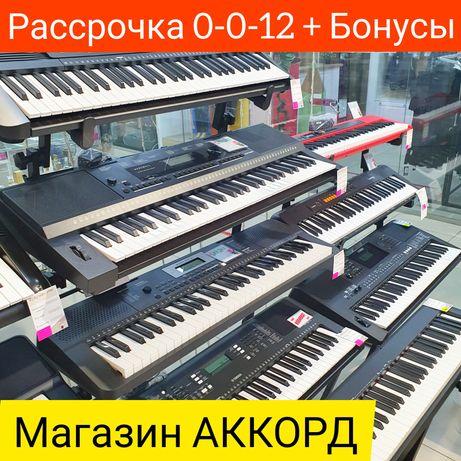 Большой выбор Синтезаторов. М-н Аккорд в Павлодаре