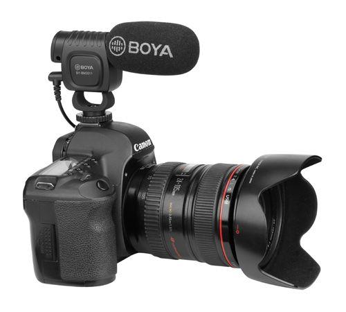 Microfon pusca BOYA BY-BM3011 cardoid compact aparat foto, videocamera