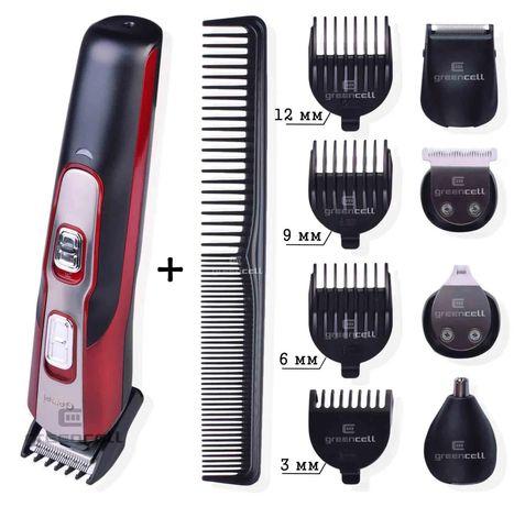 Машинка для стрижки Gemei 10в1 .Триммер бритва.Профессиональная бритья