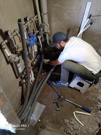 Сантехник, монтаж/ремонт отопления и водоснабжения в Астане®