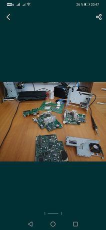 Placa de baza  radio hard unitate optica dvd display piese alimentare