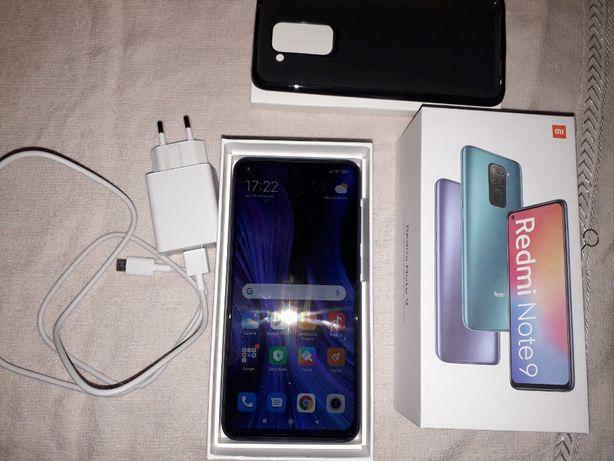 telefon Xiaomi redmi note 9 midnight grey 128 Gb