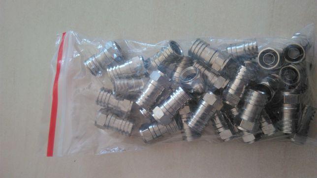 Mufe RG6 sertizare cu garnitura