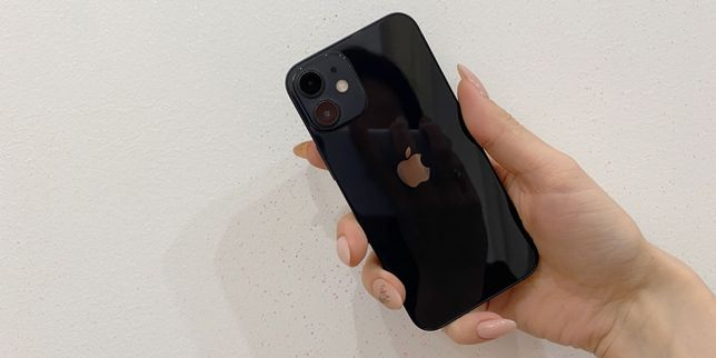 İ phone 12 mini new black 64gb