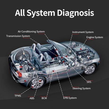 Автомобилна диагностика, триене на грешки, тест на акумулатор