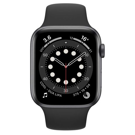 Apple Watch Series 6 44mm (Space Gray, Sport edition)