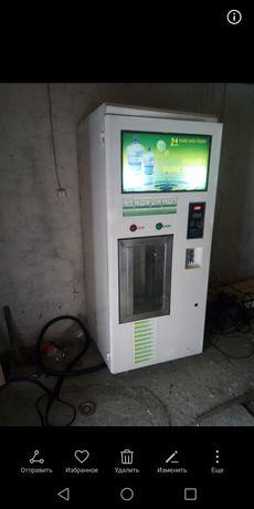 Автомат для продажи чистой воды. Готовый бизнес. Вендинг. Аппарат для