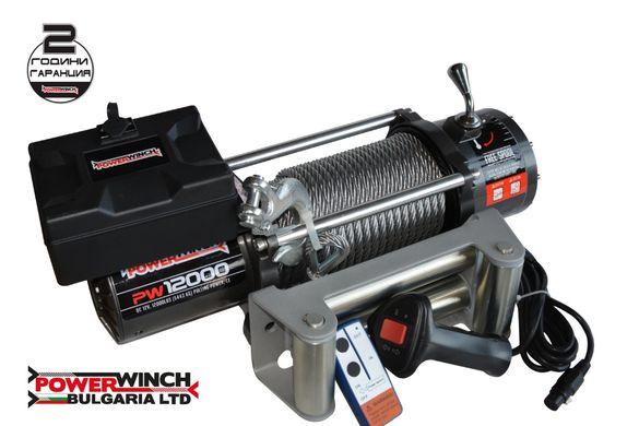 Лебедка PowerWinch (Kangaroo) 12000lb - 5443 kg - за джип, пътна помощ