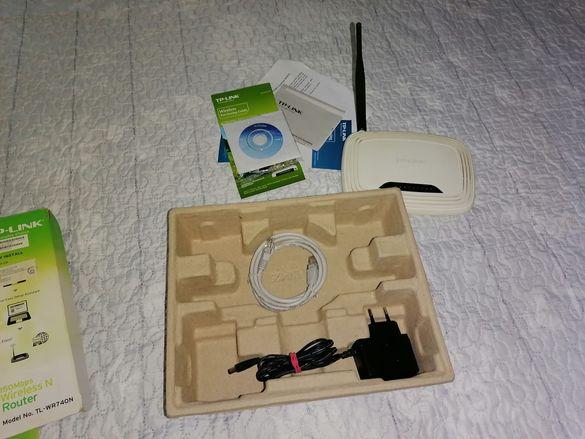 TL-WR741ND е комбинирано устройство за кабелна/безжична мрежова връзка