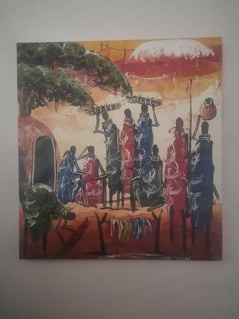 Продавам африканска картина