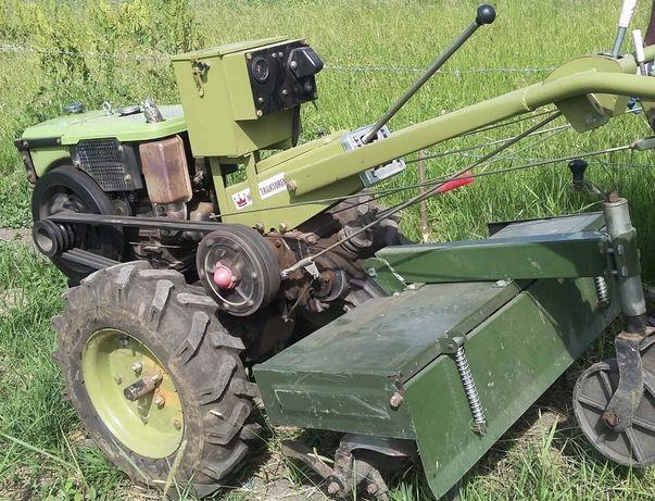 Motocultor Konig Traktorel cu freza si plug