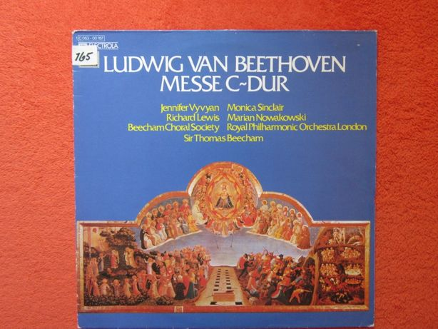 vinil Beethoven -Messe C-Dur (Sung in Latin)-dir. Sir Thomas Beecham
