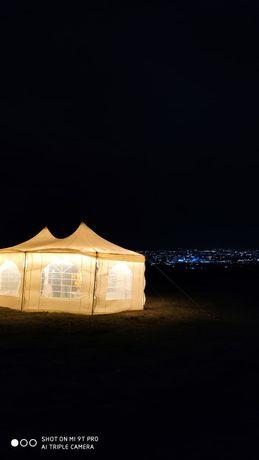 Шатер. Шатры. 35000 Аренда шатра и 20 метров ретро гирлянды в подарок