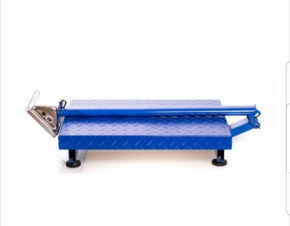 Cantar electronic 700 kg brat rabatabil pliabil platforma groasa