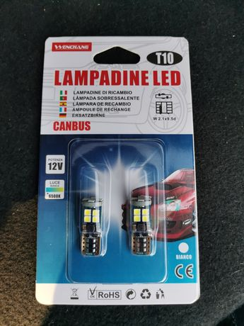 LED  габаритни крушки Canbus
