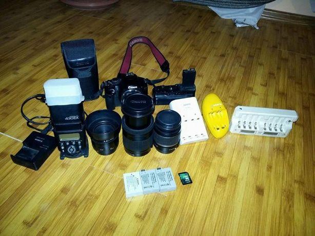 Canon EOS 550 D Pachet Foto Full