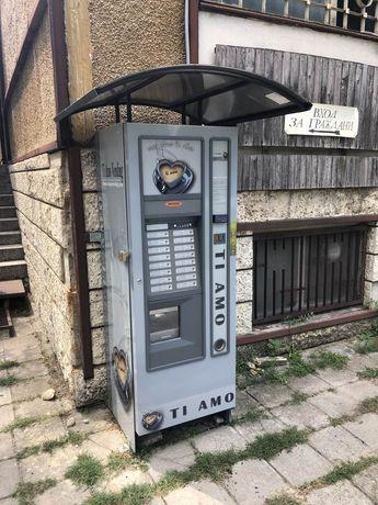 Навеси (козирки, тенти, покриви ) за кафе автомати