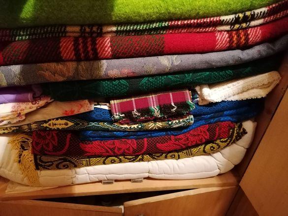 Пътеки, одеяла и калъфки