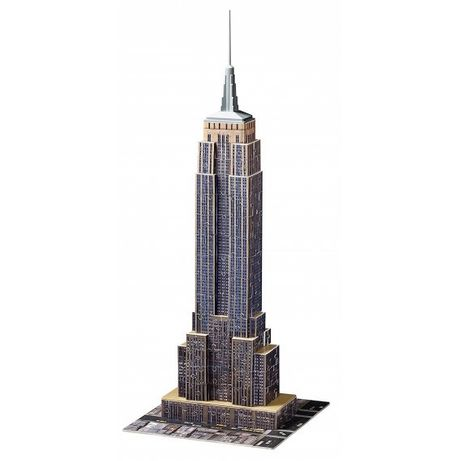 3D puzzle clădirea Empire State Building din New York - Ravensburger