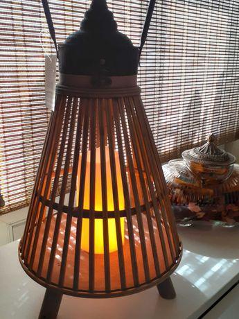 Фонарь декоративный бамбук