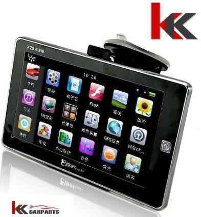 GPS навигационна система за автомобили и камиони - 7'' LED HD дисплей